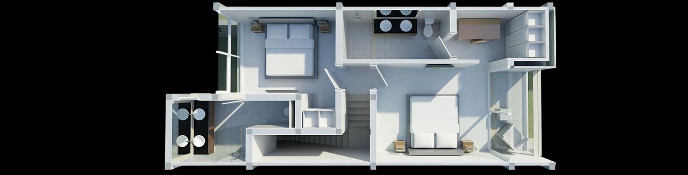 Floor Plans \u2013 Horizon Residence