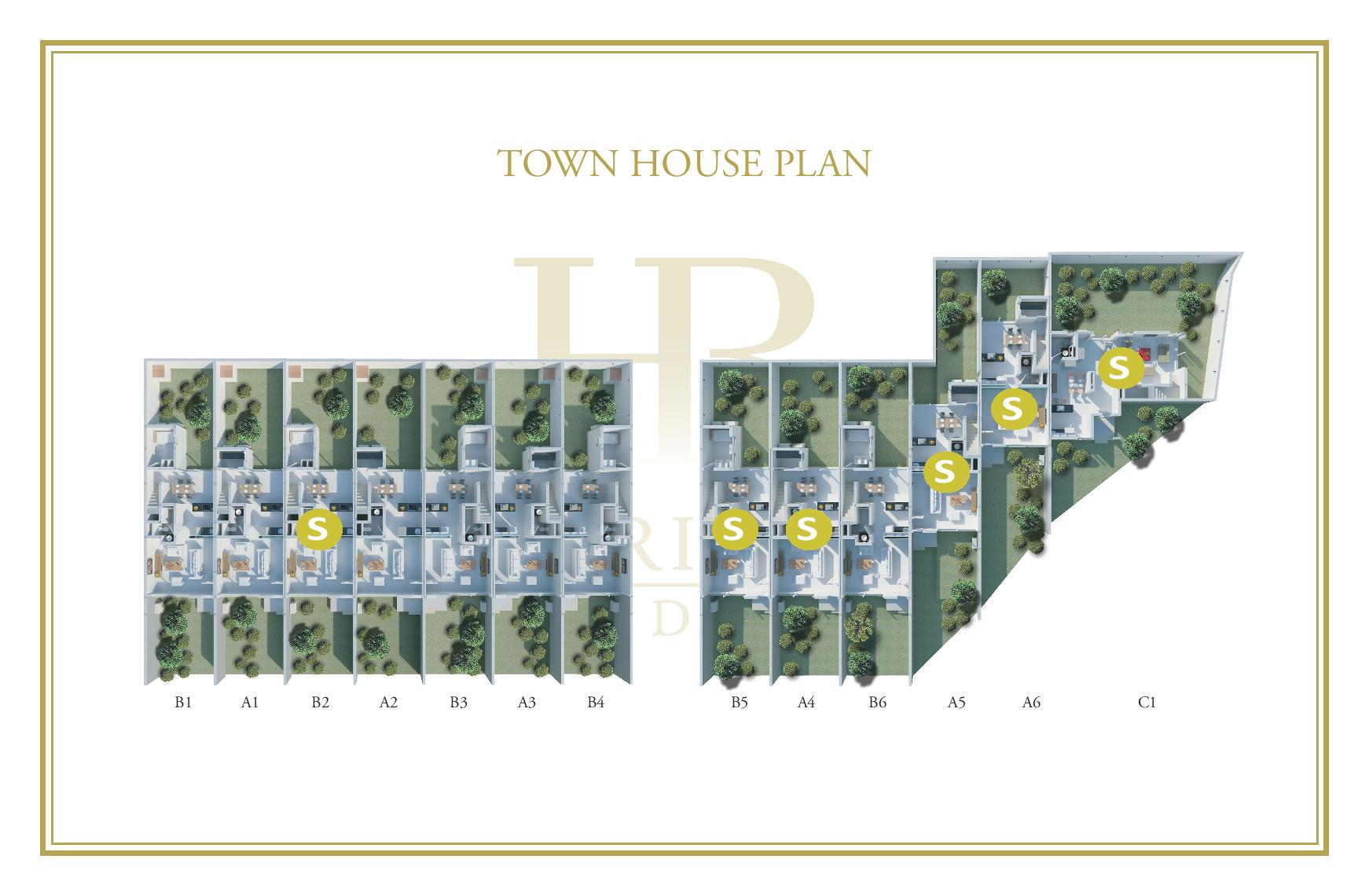 Townhouses updated master plan