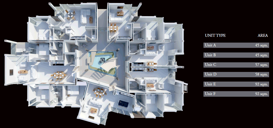 Floor Plans Horizon Residence
