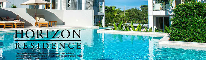 Horizon Residence featured in Samui Phangan Magazine