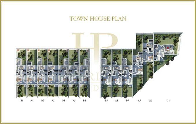 Town House Plan